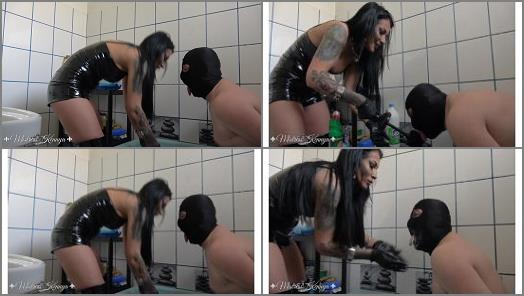 Mistress Kennya  Washing the NO from your filthy mouth  preview