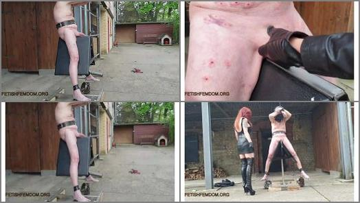 Danish Femdom  Torture the traditional way  preview