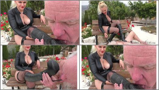 Heel Digging - Femme Fatale Films – Stiletto Boot Prints – Super HD – Complete Film -  Mistress Fox