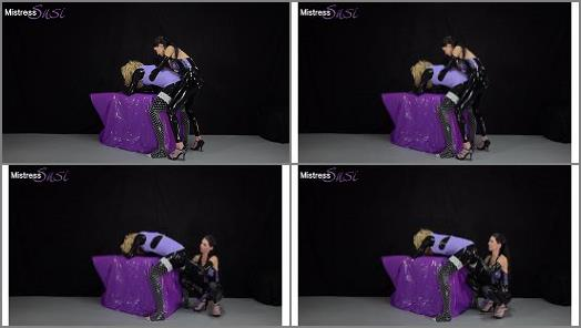 Mistress Susi s Fetish Clips  Strapon and Milking for the shy Rubbersissy  preview
