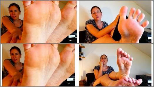 SWEATY SOCKS AND FEET WORSHIP POV preview