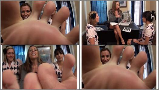 First Time Foot Smellers  Perverted Classmate Humiliation preview