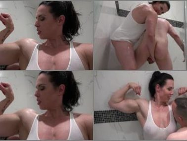 Muscle Worship -  Miss Monrow – Bully girlfriend (part 2)
