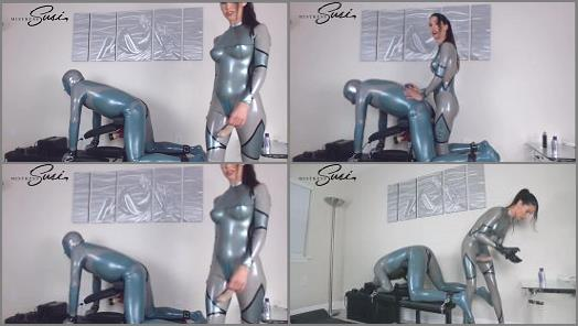 Latex Mistress –  Mistress Susi s Fetish Clips – Venus2000 milking with Feelodoe Fucking Webcamshow