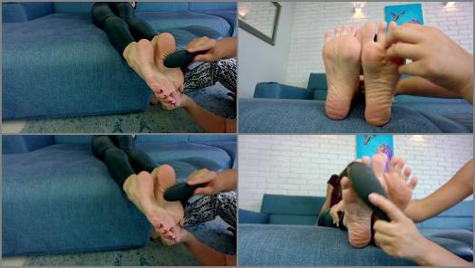 Polish Mistress  Lisa Tickle Feet Close Up preview