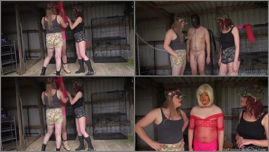 The English Mansion  Slave Hunt  Release Pt1  Part 3   Mistress Katerina and Princess Bella preview