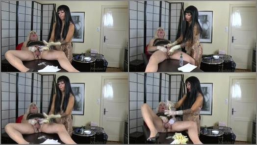 Absolute Femdom  Milked And Fucked With Surgery Gloves  preview