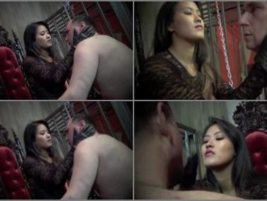 Extreme Domination - Asian Cruelty – TRAPPED AND SLAPPED -  Goddess Angelina