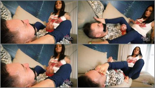 Bratty Foot Girls  Jamie Valentine  You WANT Stinky Feet huh preview