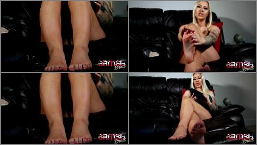 British Bratz  Cum For Jessies Feet preview