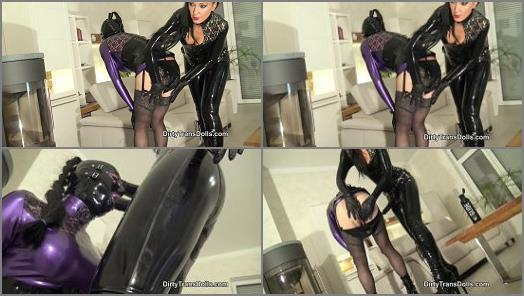 Dirty Trans Dolls  Rubber sluts anal training part 1   Fetish Liza  preview