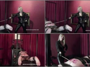 Female Domination -  Domina Scarlet – Watch Me Punish My Boy