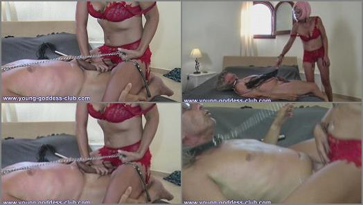 GODDESS ELENA  SLAVE ROGER  YOU JERK OFF IF I WANT MY COCK UNDER THE CONTROL OF A COUGAR  preview