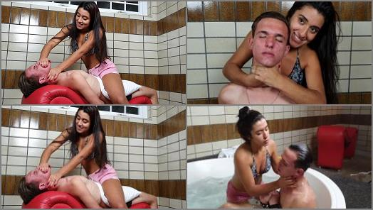 MF SMOTHER BOYS  HAND OVER MOUTH REAL CONVULSION  VOL   NEW TOP GIRL LARISSA YASIN  preview