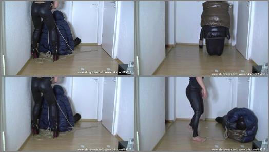 SpandexPlanet Clips Store  Miss Cedis bagged slave  preview