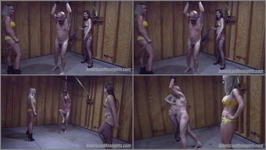 THE MEAN GIRLS  Miss Dandys First Beatdown   Goddess Platinum and Mistress Dandy  preview