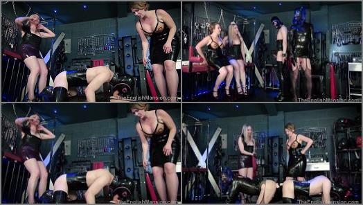 The English Mansion  Horny Rubber Dolls  Complete Film   Featuring Mistress Sidonia and Mistress T preview