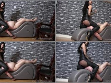 Facesitting -  Club Stiletto FemDom – Amazon Ass, Miniature Penis -  Mistress Damazonia