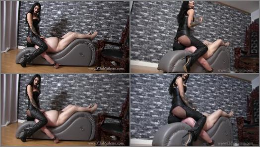 Club Stiletto FemDom  Amazon Ass Miniature Penis   Mistress Damazonia  preview