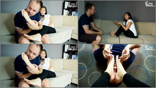 Czech Soles  Foot worship during Vietnamese language lesson preview