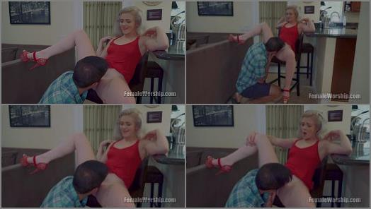 Female Worship  Come Here Kneel Lick   Kay Carter and Jon Rogue  preview