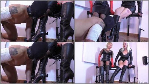 Femme Fatale Films  Suffer For Sucking  Super HD  Complete Film   Divine Mistress Heather and Mistress Johanna preview