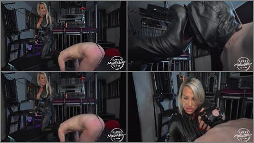 Kinky Mistresses  CBT And Leather Worship   Calea Toxic  preview