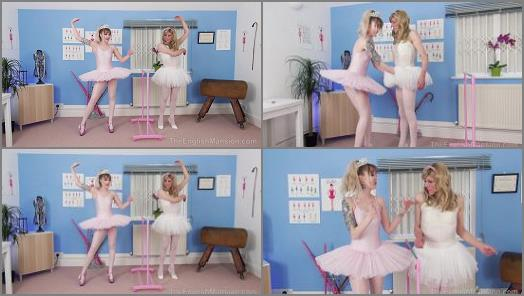 Young Domina –  The English Mansion – Ballet Stand In Pt1 – Part 2 –  Princess Aurora