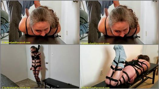 Cinched and Secured  Genevieve Harnessed and Helpless  preview