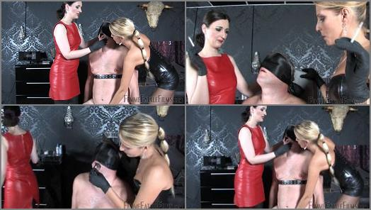 Femme Fatale Films  Slap and Spittle  Complete Film   Lady Natalie Black and Lady Victoria Valente preview