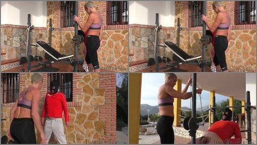 Femme Fatale Films  Stalker Stretching  Super HD  Part 1   The Hunteress preview
