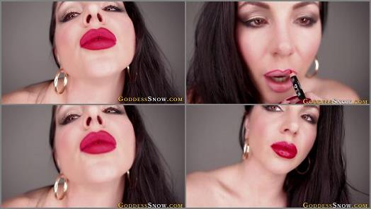 Goddess Alexandra Snow  Big Red Lips  preview