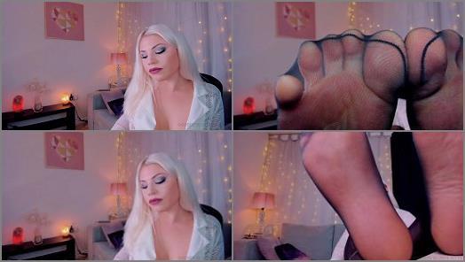 Goddess Kitty  Nylon Foot Fetish preview