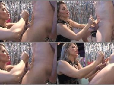 Sadistic Handjob -  Torture Time – Birthday Dance Fit For A Douchebag – Featuring Ashley Fires & Fluffy