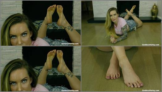 Amazon Goddess Harley  Ruined Dribble Foot Slave  preview