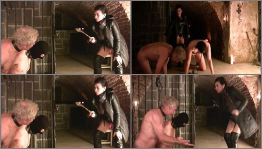 Mistress Saint Lawrence clipstore  SLAVES TORTURED IN OWK UNDERGROUND CELLAR  preview