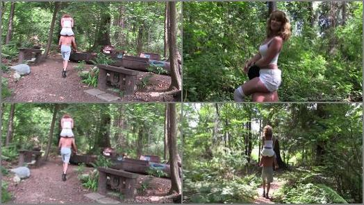 Riding Women  Kandy and pony Wander the Wilderness   Mistress Kandy  preview