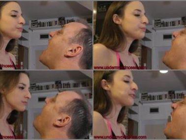 Humiliation -  femdomuncut Store – Amirah Adara-Spit at Me
