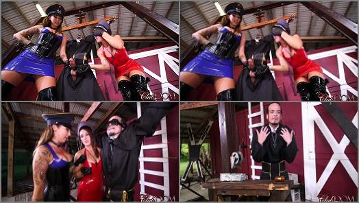 ClubDom  Callie Nicole and Charley Hart Humuliate a Reverend  Last Milking  preview