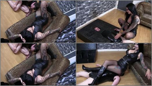 Club Stiletto FemDom  The Crushing Legs of Mistress Damazonia   Mistress Damazonia  preview