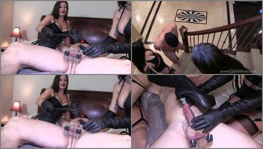 Club Stiletto  Hungry Dick Swallows Her Entire Heel   Miss Jasmine and Mistress Damazonia  preview