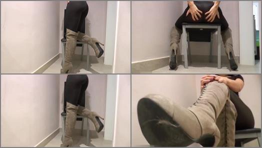 Dana Da Silva  You are my boot slave preview