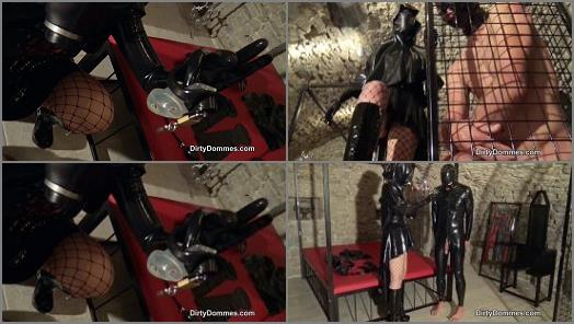 Dirty Dommes  Rubber Transformation Games Part 1   Fetish Liza  preview