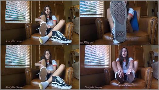 Goddess Kelsey  Pathetic for Goddess Sneakers preview
