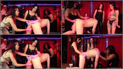 Lady Bellatrix  Queen of Mean  Triple Gangbang and Spit Roast by Three Dominatrices  preview