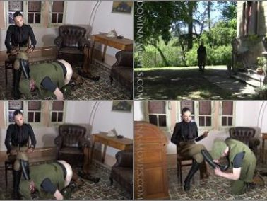 Boot Licking -  MADAME CATARINA – CRUELEST BEAUTY – Safari Caning- Stable Boy Boot Service: Chapter One