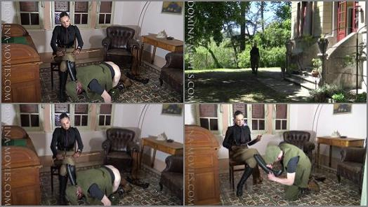 MADAME CATARINA  CRUELEST BEAUTY  Safari Caning Stable Boy Boot Service Chapter One  preview