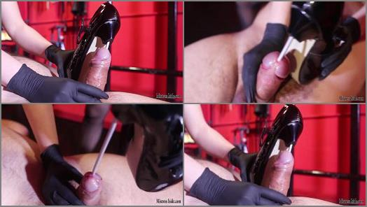 Mistress Iside  STRONG CBT AND NAIL HEELS IN DOUBLE PENETRATION  preview
