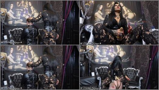 Mistress Kennya  Mouth fucking the virgin  preview
