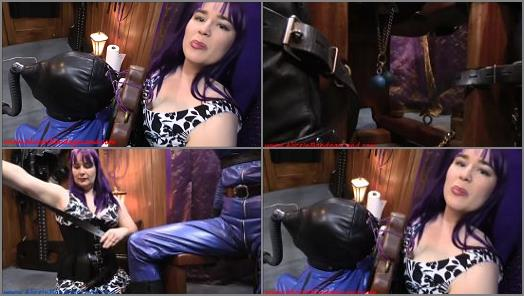 Alice In Sissy Land  Crossdressing  Leather Catsuit Gasmask Breathplay  CBT Orgasms Crossdressing Fetishist preview